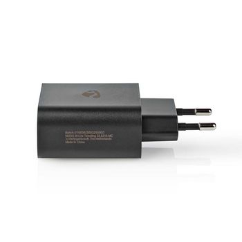 WCPD30W102BK Oplader | 1,5 a / 2 a / 2,5 a / 3,0 a | outputs: 1 | poorttype: usb-c™ | 30.0 w | automatische Product foto