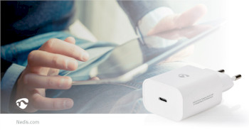 WCPD30W102WT Oplader   pd3.0 30w   1,5 a / 2 a / 2,5 a / 3,0 a   outputs: 1   usb-c™   30 w   automatische  Product foto