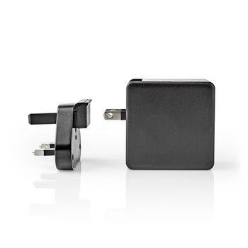 WCPD30W110BKUK Oplader | 2x 3,0 a | outputs: 2 | poorttype: 1x usb-a / 1x usb-c™ | geen kabel inbegrepen | 48 Product foto