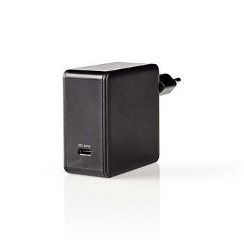 WCPD60W100BK Oplader   snellaad functie   pd3.0 60w   1x 3,0 a   outputs: 1   usb-c™   geen kabel inbegrepe