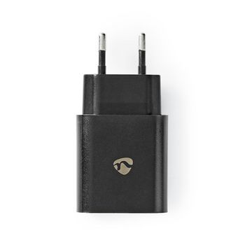WCQC302ABK Oplader   1x 3,0 a   outputs: 1   usb-a   geen kabel inbegrepen   18 w   automatische voltage select Product foto