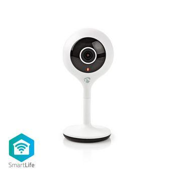 WIFICI05CWT Smartlife camera voor binnen | wi-fi | hd 720p | cloud / microsd | nachtzicht | android™ & ios