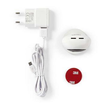 WIFICI05CWT Smartlife camera voor binnen | wi-fi | hd 720p | cloud / microsd | nachtzicht | android™ & ios Inhoud verpakking foto