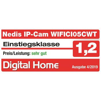 WIFICI05CWT Smartlife camera voor binnen | wi-fi | hd 720p | cloud / microsd | nachtzicht | android™ & ios Product foto