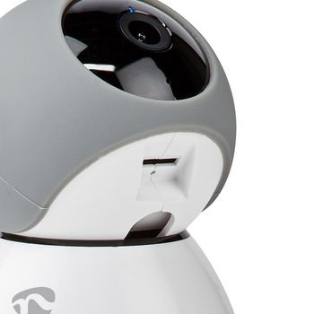 WIFICI30CGY Smartlife camera voor binnen | wi-fi | full hd 1080p | kiep en kantel | cloud / microsd | met bewegi Product foto