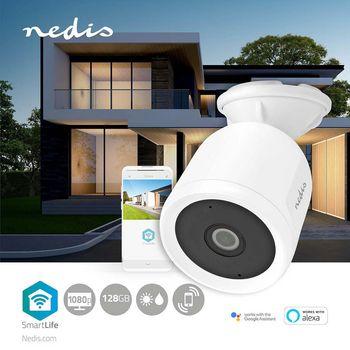 WIFICO50CWT Smartlife camera voor buiten   wi-fi   full hd 1080p   ip65   cloud / microsd   5,0 v dc   met beweg Product foto