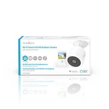 WIFICO50CWT Smartlife camera voor buiten | wi-fi | full hd 1080p | ip65 | cloud / microsd | 5,0 v dc | met beweg  foto