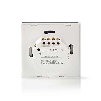 WIFIWC10WT Wi-fi smart muurschakelaar | gordijn-, luik- of zonneschermbediening Product foto