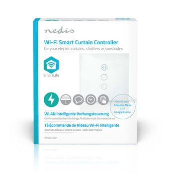 WIFIWC10WT Wi-fi smart muurschakelaar | gordijn-, luik- of zonneschermbediening Verpakking foto