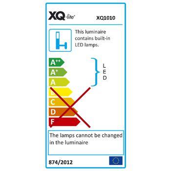 XQ-1010 Led floodlight met sensor 8.8 w 210 lm zwart  foto